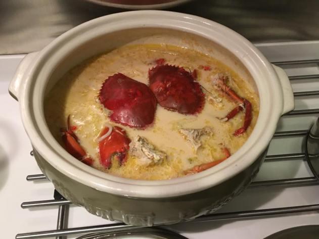 #2 crab beehoon soup