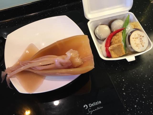 cuttlefish + yong tau fu from chinatown market