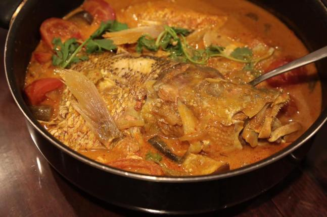 fish head curry was very good
