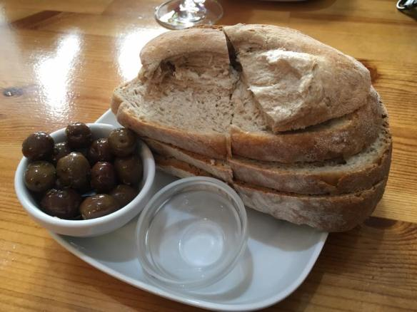 olives & bread