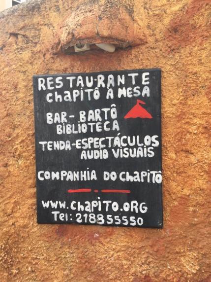restaurante chapito a mesa