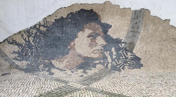 street mosaic art