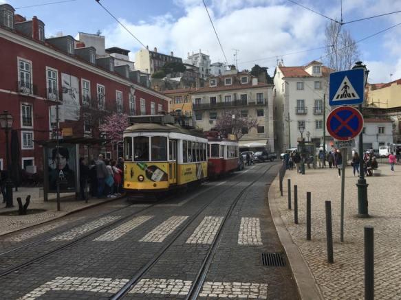 street & tram 28 route2
