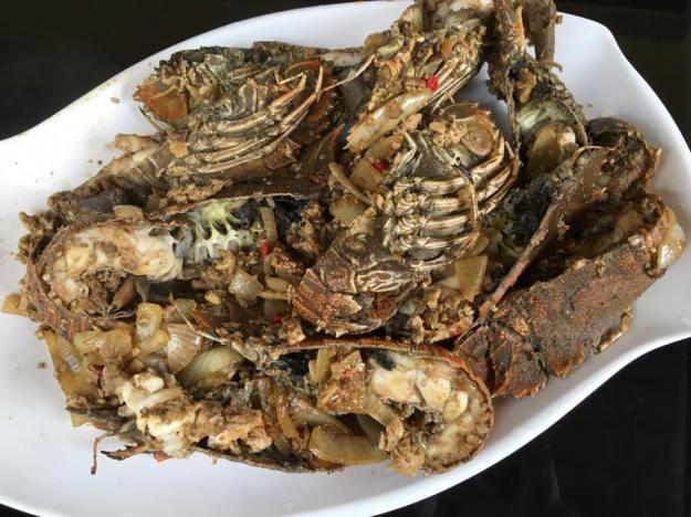 #4 teochew egg & onion crayfish