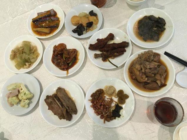 teochew muay buffet dishes