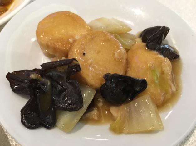 tofu fungus chinese cabbage