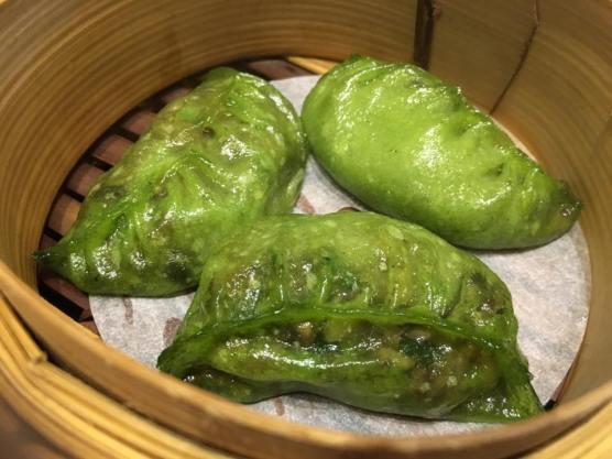 truffle mushrrom dumpling