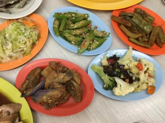 5 vegetables