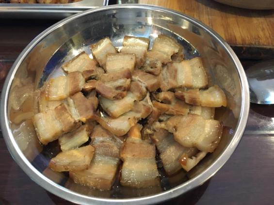 belly pork steamed with salted fish