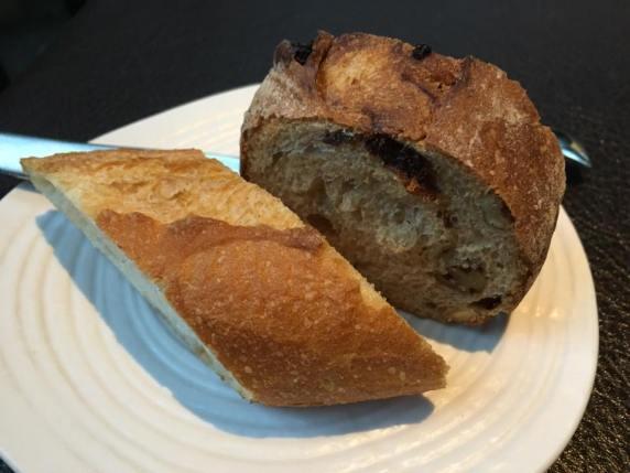 baguette & walnut bread