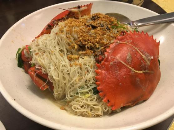 crab beehoon - S$59