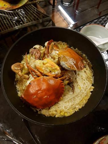 crab beehoon