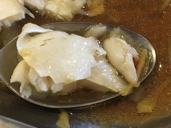 HK steamed song fish head 港蒸松鱼头