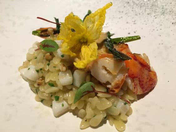 #3 maine lobster, riso, bottarga