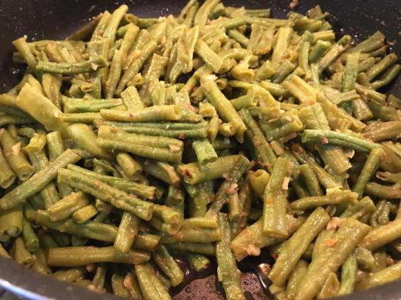 nonya sauce long beans