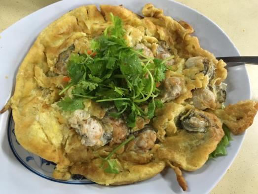 orh jian - oyster egg