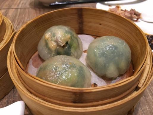 some 韭菜饺