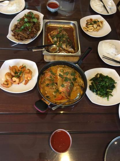 6-course lunch for 6pax