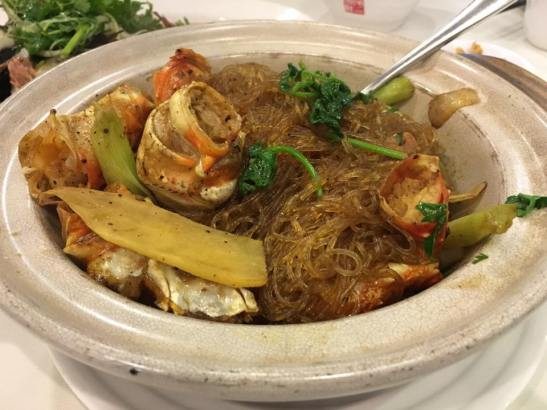 alaskan crab tanhoon prawns - S$32