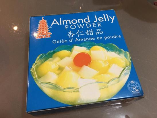 almond jelly