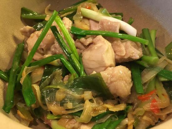 chinese wine braised chicken 黄焖鸡