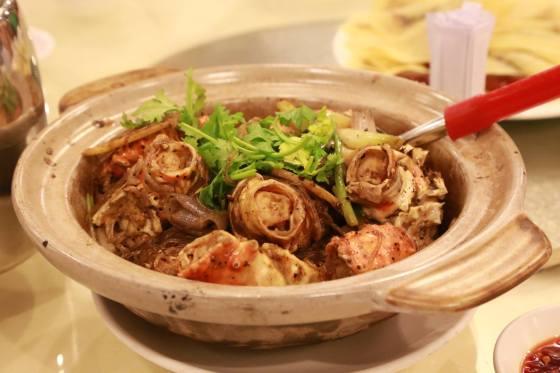 claypot alaskan crab tanhoon