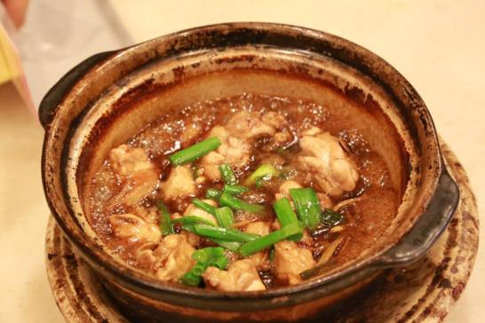 claypot sesame chicken