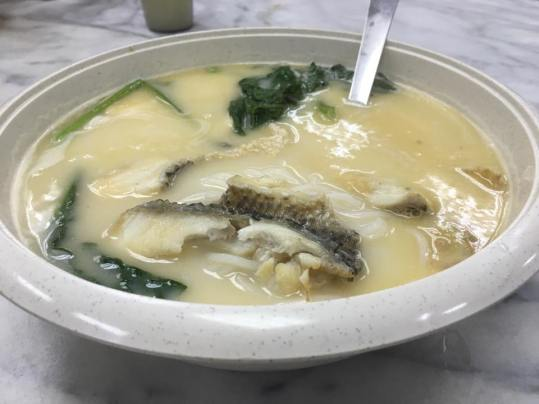 fish belly thick beehoon 鱼肌米粉