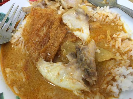 kam long fish head curry