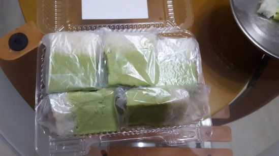 a friend made kueh kaya