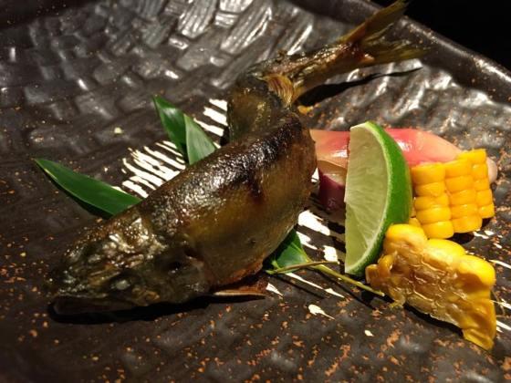 grilled ayu