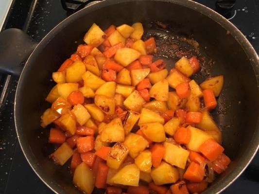 onions, carrots, potatoes