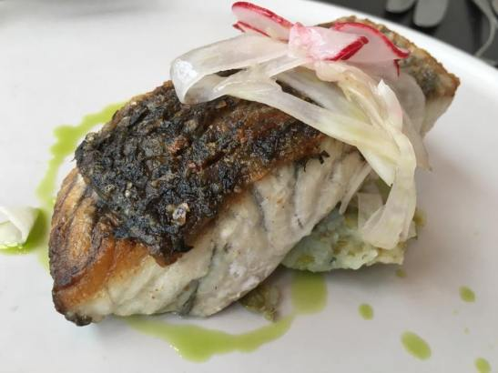 pan-fried barramundi