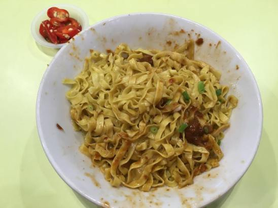 ru ji kitchen fishball noodles