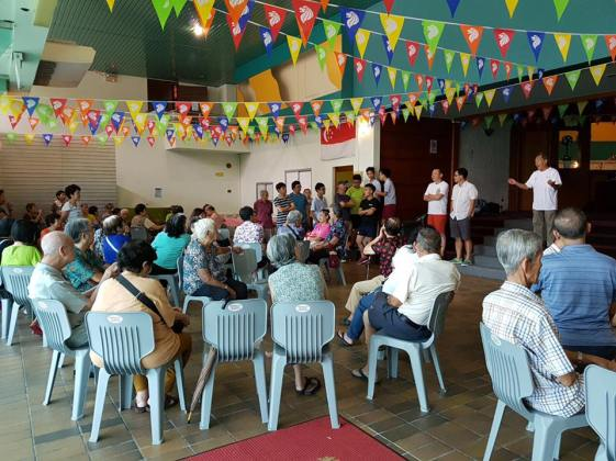 bread of life community lunch at newgate learning hub bathesda bedok