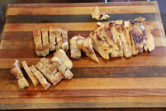 chargrilled belly pork & pork loin