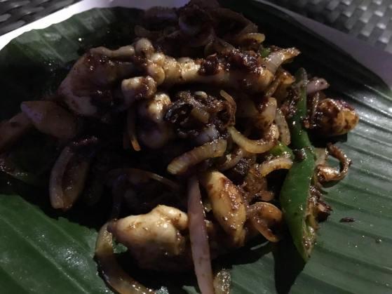 chilli razor clams