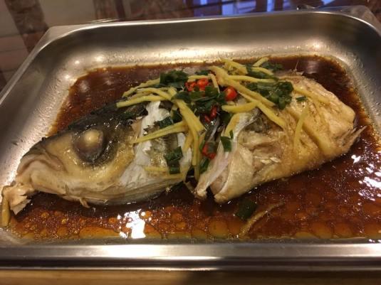 HK steamed song fish head 港蒸松鱼头2-2aug2016