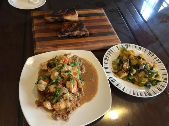 home lunch dishes
