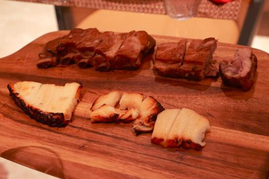 slow roast prime ribs (mock kurobuta) & nobu miso cod