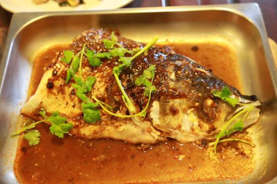 spicy black bean sauce fish head