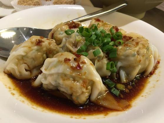 spicy dumplings抄手