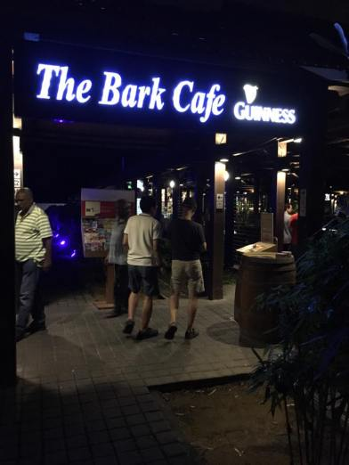 the bark cafe