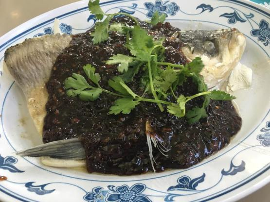 black bean sauce song fish head 松鱼头