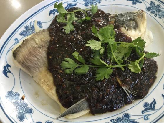 black bean sauce song fish head 松鱼头