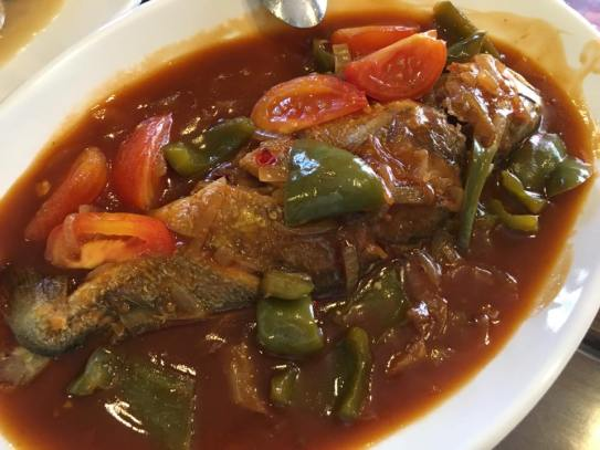braised yellow croaker 红烧小黄鱼 - room for improvements