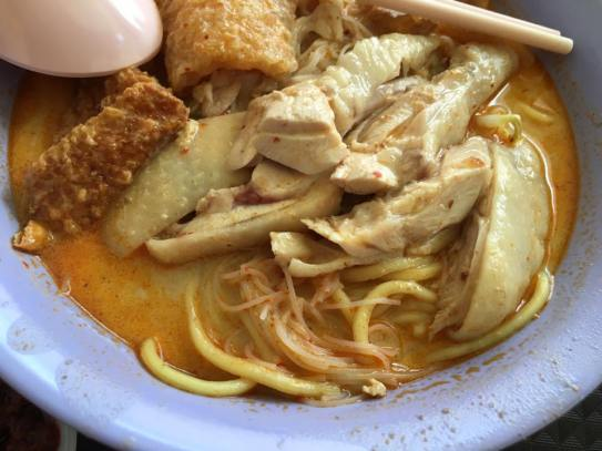 curry chicken laksa