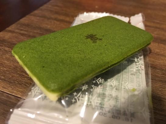 nice jap greentea biscuits