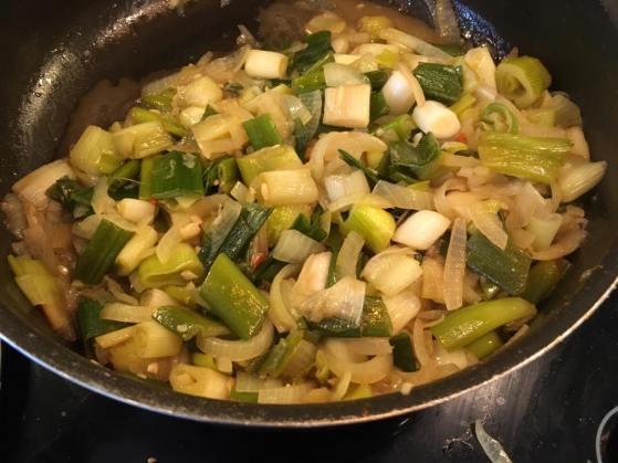 leeks & onions
