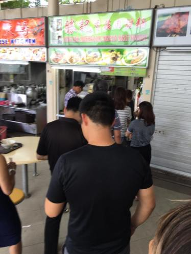 long queue @ seng kee 胜记bak chor mee